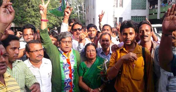 दुर्गापुर नगर निगम के एक सीट पर तृणमूल की निर्विरोध जीत