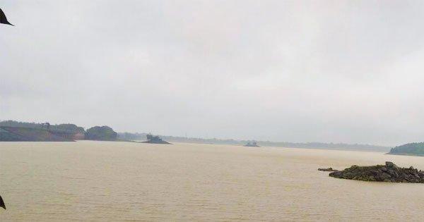 पंचेत डैम से छोड़ा गया 1 लाख 48 हजार 520 एकड़ फिट पानी