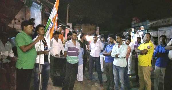 पश्चिम बंगाल के नगर निगम चुनावों में मिली भारी जीत के उपलक्ष्य में सलानपुर में किया उत्सव सभा