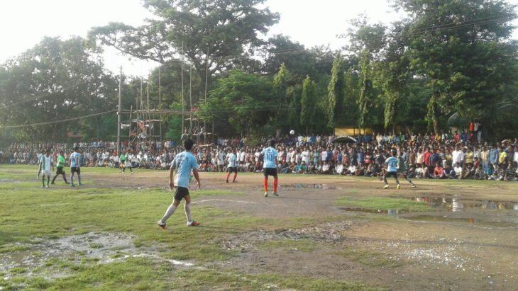 रानीगंज रेलवे मैदान में रविवार (3 अगस्त) को खेला गया फाइनल मैच