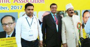 कार्यक्रम में शामिल [21:50, 12/29/2017] Ram Jha: भारतीय आर्थिक परिसद के सचिव डॉ अनिल ठाकुर और झारखंड प्रदेश के कार्यकारी सदस्य डॉ एन. सी. झा