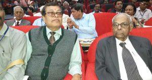 पूर्व आरबीआई गवर्नर सी रंगराजन के साथ झारखंड प्रदेश के कार्यकारी सदस्य डॉ एन. सी. झा